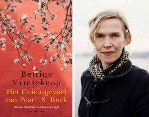 Bettine Vriesekoop over Winnaar Nobelprijs Literatuur 1938     18 februari verschijnt bij Uitgeverij Brandt    Het China-gevoel van Pearl S. Buck  Winnaar Nobelprijs voor Literatuur 1938